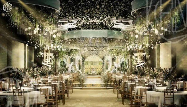 婚礼堂发布:4大主题厅!中山百万级奢华婚宴酒店  第10张