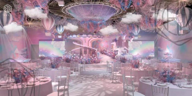 婚礼堂发布:4大主题厅!中山百万级奢华婚宴酒店  第13张