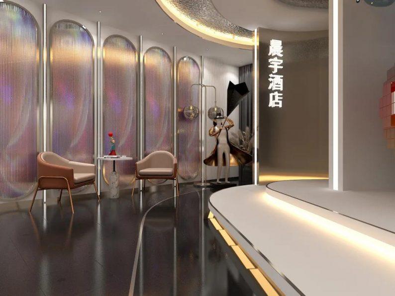 婚礼堂发布:麦宸商业空间美学作品!长春晨宇酒店设计解读  第5张