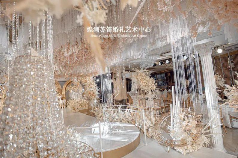 婚礼堂发布:婚庆+酒店共同打造,煌潮苏笛婚礼艺术中心简介  第6张