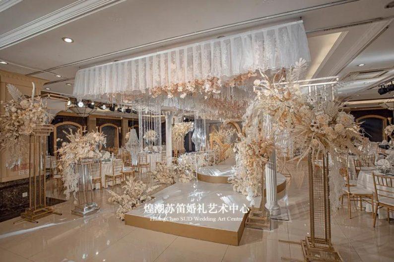 婚礼堂发布:婚庆+酒店共同打造,煌潮苏笛婚礼艺术中心简介  第7张