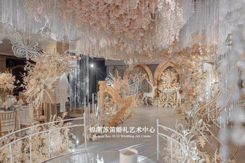 婚礼堂发布:婚庆+酒店共同打造,煌潮苏笛婚礼艺术中心简介  第8张