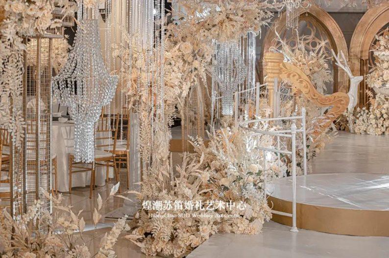 婚礼堂发布:婚庆+酒店共同打造,煌潮苏笛婚礼艺术中心简介  第10张