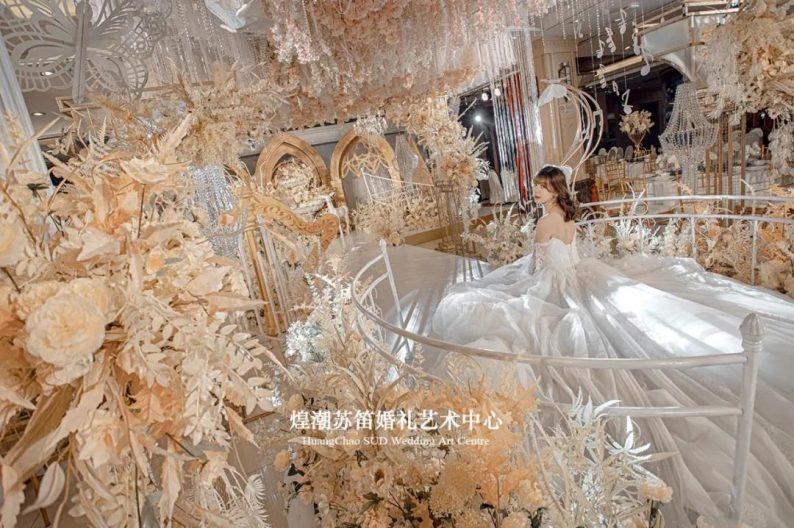 婚礼堂发布:婚庆+酒店共同打造,煌潮苏笛婚礼艺术中心简介  第14张