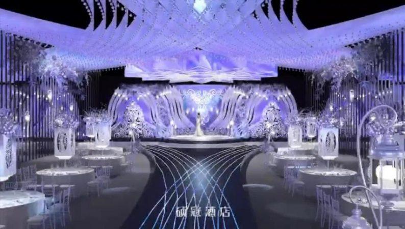 婚礼堂发布:6大宴会厅!临淄硕冠酒店全新升级  第4张