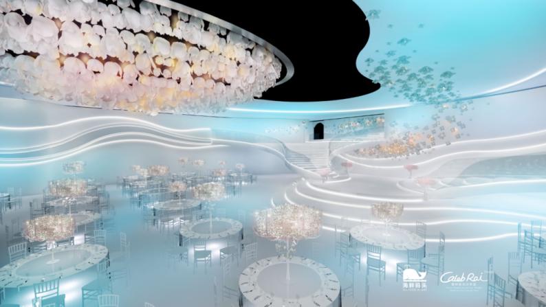 婚礼堂发布:赖梓愈设计!长春海鲜码头打造奢华婚礼  第4张