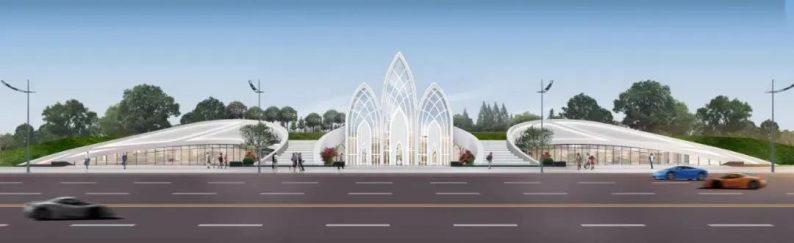 婚礼堂发布:徐丹设计!1.3万方、10大主题厅,开启江景婚礼新时代  第1张