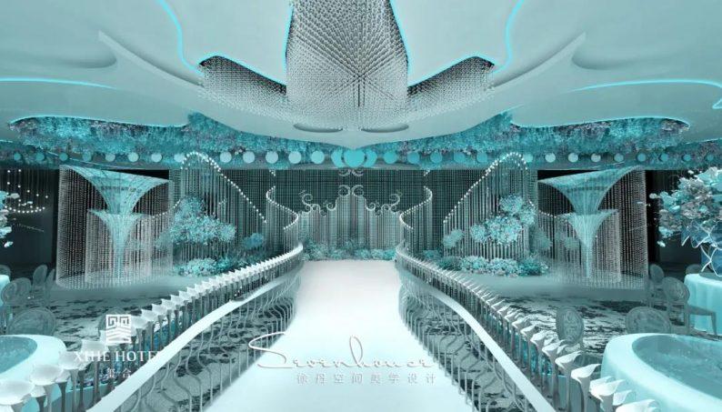 婚礼堂发布:徐丹设计!1.3万方、10大主题厅,开启江景婚礼新时代  第5张