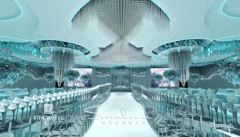 婚礼堂发布:徐丹设计!1.3万方、10大主题厅,开启江景婚礼新时代  第6张