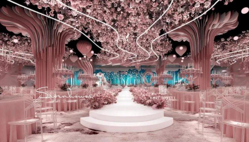 婚礼堂发布:徐丹设计!1.3万方、10大主题厅,开启江景婚礼新时代  第8张