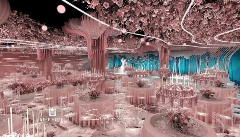 婚礼堂发布:徐丹设计!1.3万方、10大主题厅,开启江景婚礼新时代  第9张