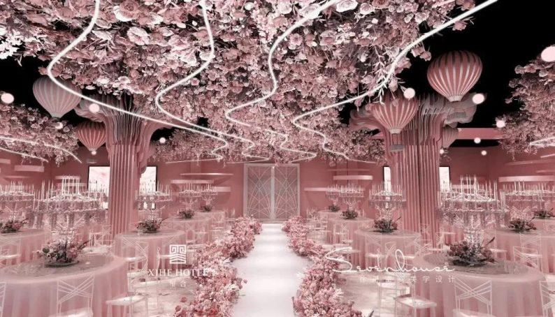 婚礼堂发布:徐丹设计!1.3万方、10大主题厅,开启江景婚礼新时代  第10张