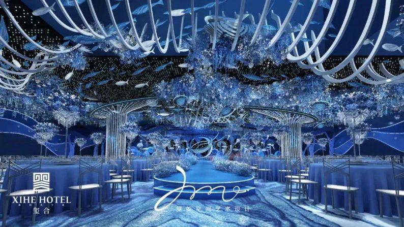 婚礼堂发布:徐丹设计!1.3万方、10大主题厅,开启江景婚礼新时代  第11张