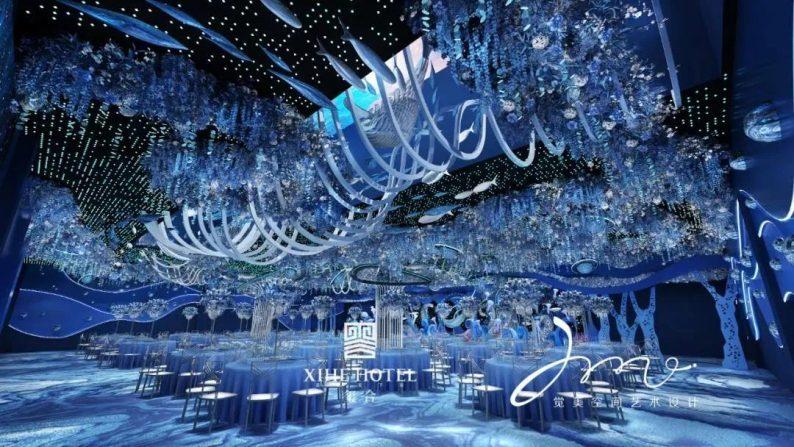 婚礼堂发布:徐丹设计!1.3万方、10大主题厅,开启江景婚礼新时代  第13张