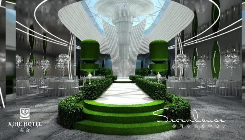 婚礼堂发布:徐丹设计!1.3万方、10大主题厅,开启江景婚礼新时代  第14张