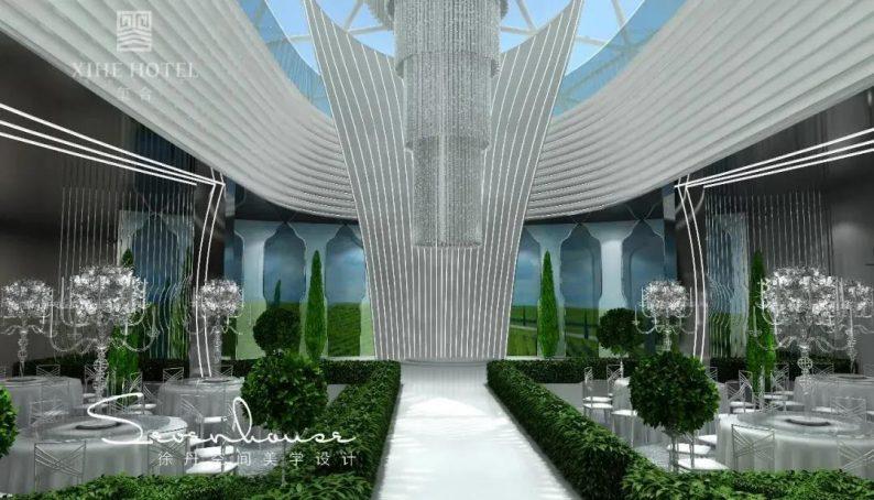 婚礼堂发布:徐丹设计!1.3万方、10大主题厅,开启江景婚礼新时代  第16张
