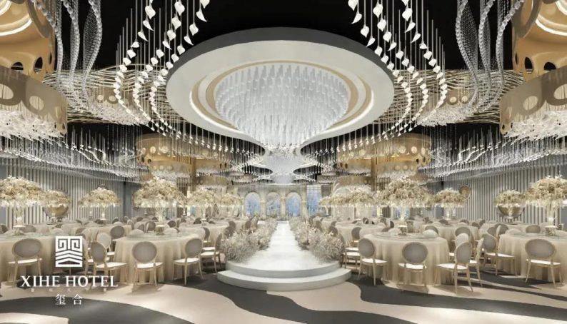 婚礼堂发布:徐丹设计!1.3万方、10大主题厅,开启江景婚礼新时代  第19张