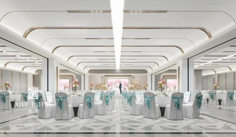 婚礼堂发布:徐丹设计!1.3万方、10大主题厅,开启江景婚礼新时代  第20张