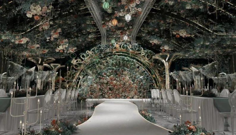 婚礼堂发布:徐丹设计!1.3万方、10大主题厅,开启江景婚礼新时代  第21张