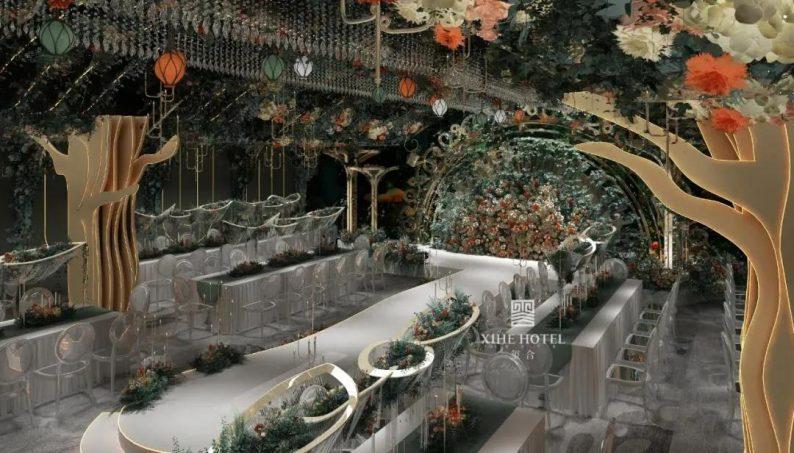 婚礼堂发布:徐丹设计!1.3万方、10大主题厅,开启江景婚礼新时代  第22张
