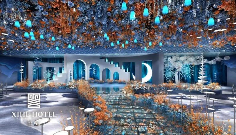 婚礼堂发布:徐丹设计!1.3万方、10大主题厅,开启江景婚礼新时代  第24张