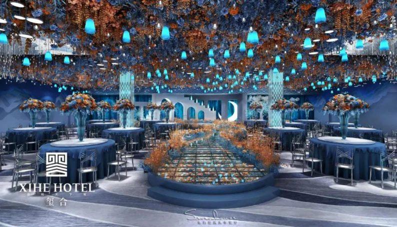 婚礼堂发布:徐丹设计!1.3万方、10大主题厅,开启江景婚礼新时代  第25张