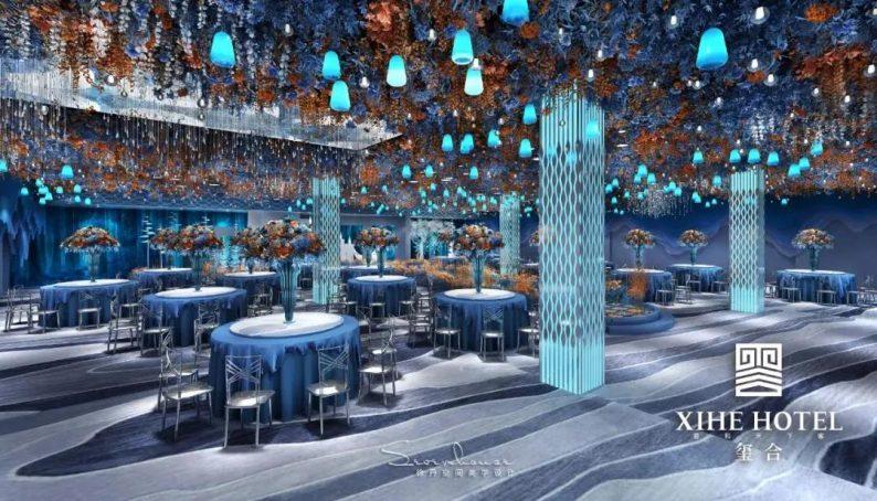 婚礼堂发布:徐丹设计!1.3万方、10大主题厅,开启江景婚礼新时代  第26张