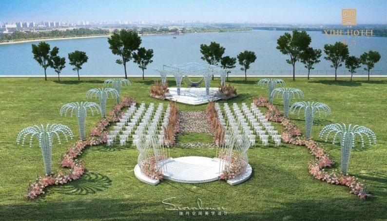 婚礼堂发布:徐丹设计!1.3万方、10大主题厅,开启江景婚礼新时代  第27张
