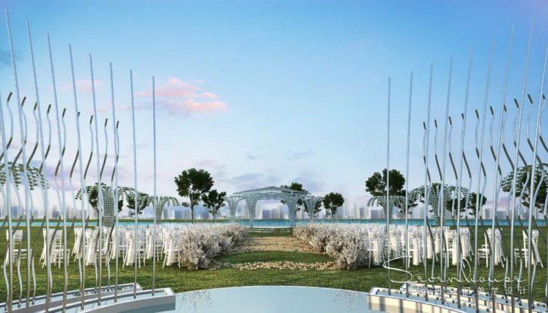 婚礼堂发布:徐丹设计!1.3万方、10大主题厅,开启江景婚礼新时代  第28张