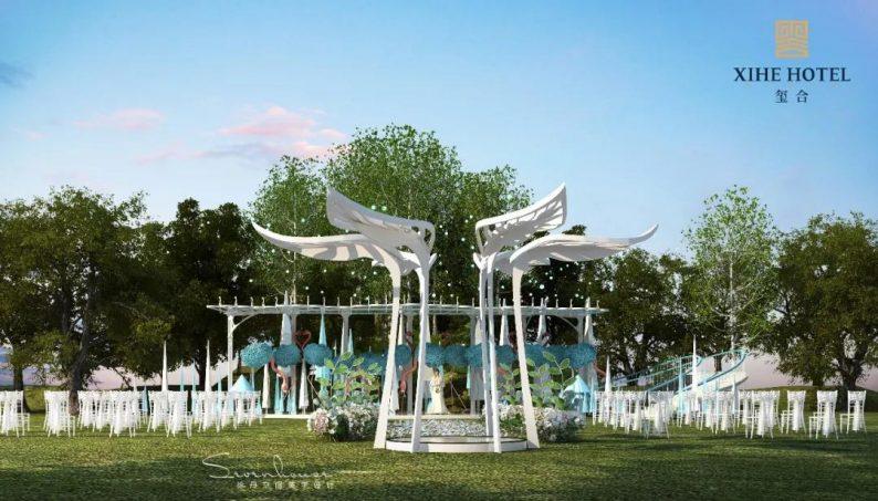婚礼堂发布:徐丹设计!1.3万方、10大主题厅,开启江景婚礼新时代  第31张