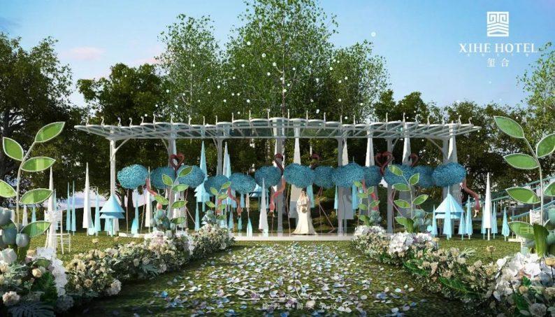 婚礼堂发布:徐丹设计!1.3万方、10大主题厅,开启江景婚礼新时代  第32张