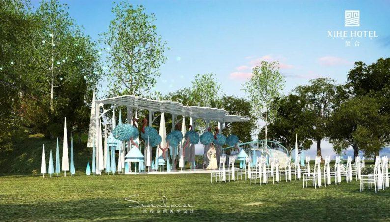 婚礼堂发布:徐丹设计!1.3万方、10大主题厅,开启江景婚礼新时代  第33张