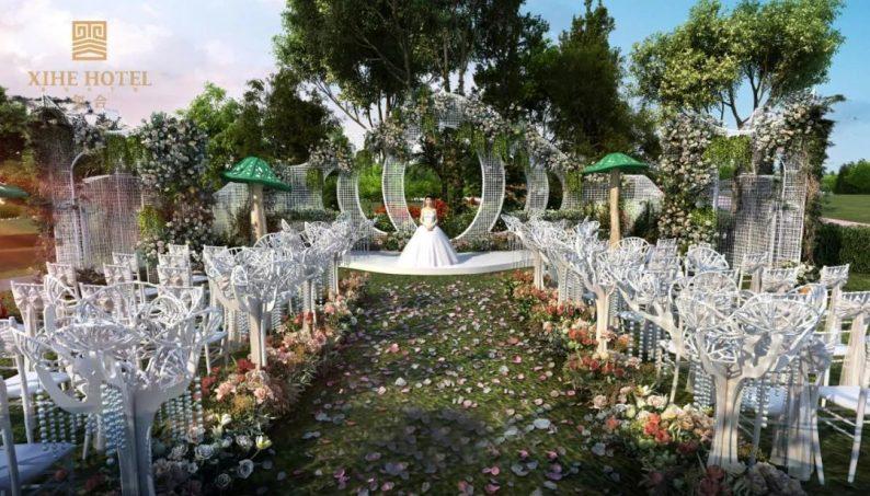 婚礼堂发布:徐丹设计!1.3万方、10大主题厅,开启江景婚礼新时代  第34张