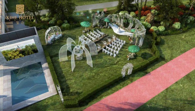 婚礼堂发布:徐丹设计!1.3万方、10大主题厅,开启江景婚礼新时代  第35张