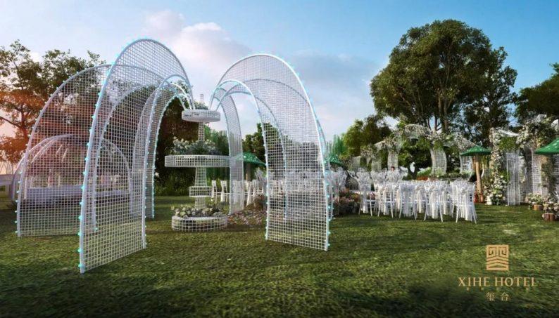 婚礼堂发布:徐丹设计!1.3万方、10大主题厅,开启江景婚礼新时代  第36张