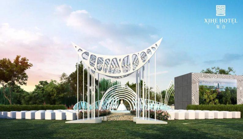 婚礼堂发布:徐丹设计!1.3万方、10大主题厅,开启江景婚礼新时代  第40张