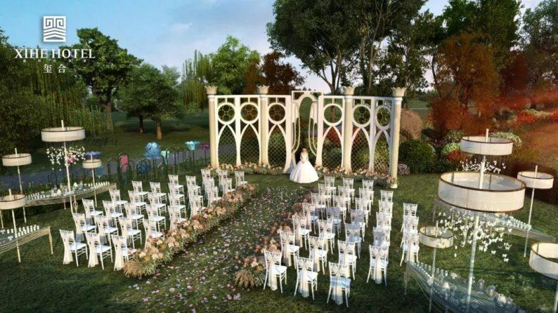 婚礼堂发布:徐丹设计!1.3万方、10大主题厅,开启江景婚礼新时代  第43张