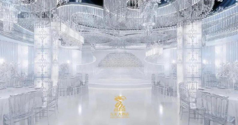 婚礼堂发布:6大主题厅!武汉大型综合性酒店设计解读  第2张