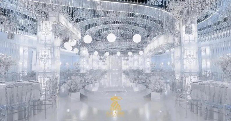婚礼堂发布:6大主题厅!武汉大型综合性酒店设计解读  第3张