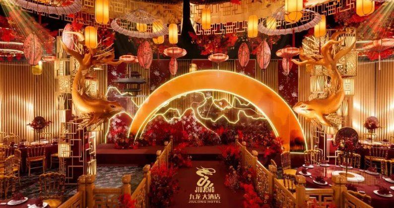 婚礼堂发布:6大主题厅!武汉大型综合性酒店设计解读  第4张