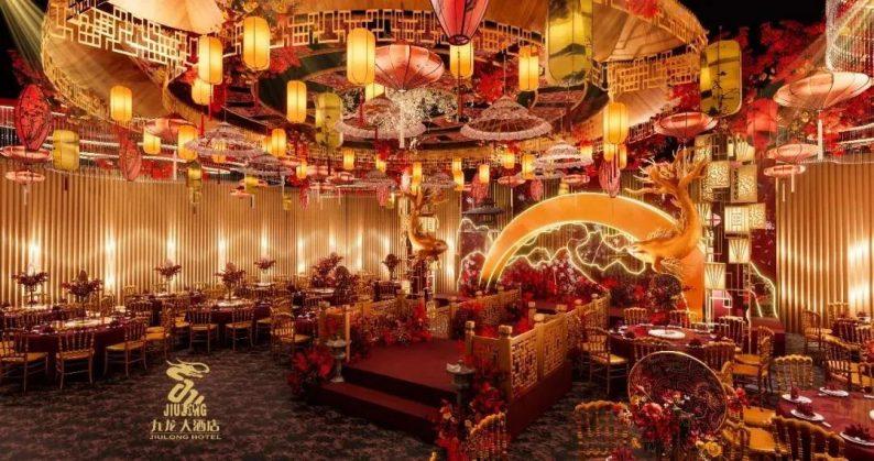 婚礼堂发布:6大主题厅!武汉大型综合性酒店设计解读  第5张