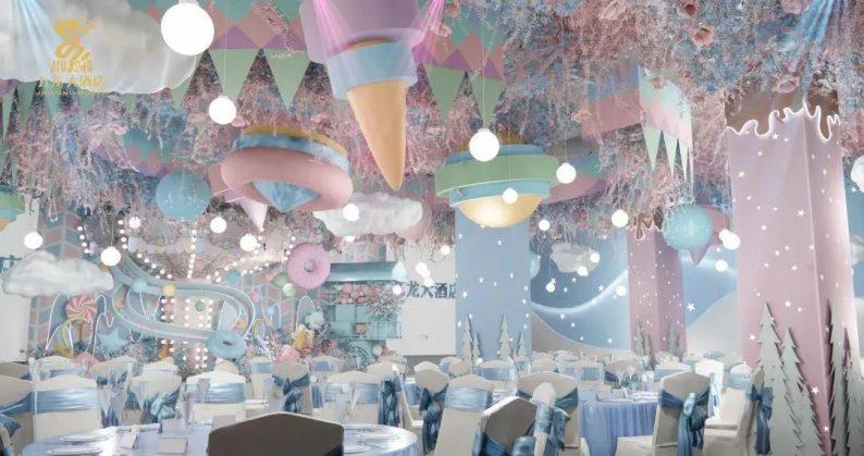 婚礼堂发布:6大主题厅!武汉大型综合性酒店设计解读  第7张