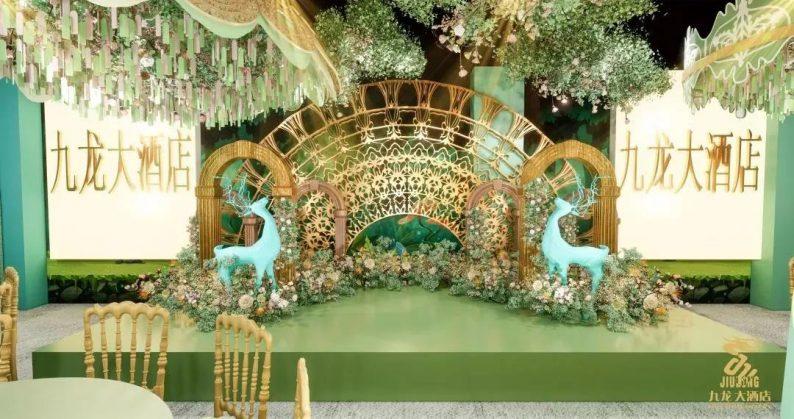 婚礼堂发布:6大主题厅!武汉大型综合性酒店设计解读  第8张
