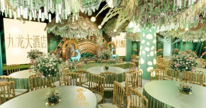 婚礼堂发布:6大主题厅!武汉大型综合性酒店设计解读  第9张