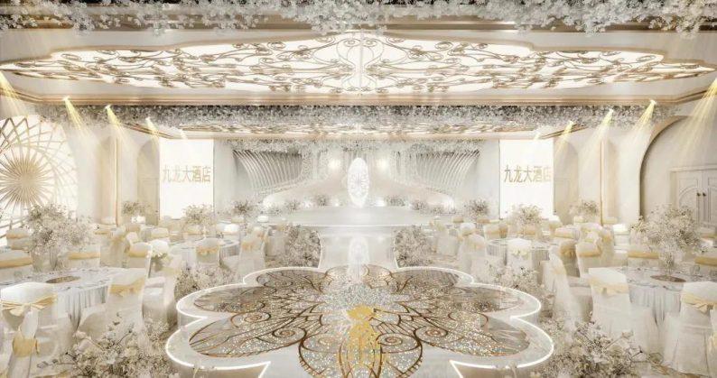 婚礼堂发布:6大主题厅!武汉大型综合性酒店设计解读  第10张