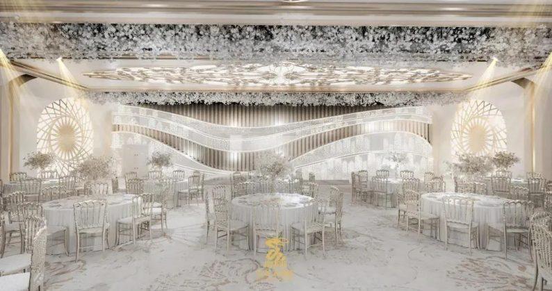 婚礼堂发布:6大主题厅!武汉大型综合性酒店设计解读  第11张