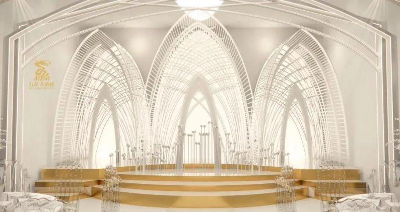 婚礼堂发布:6大主题厅!武汉大型综合性酒店设计解读  第12张