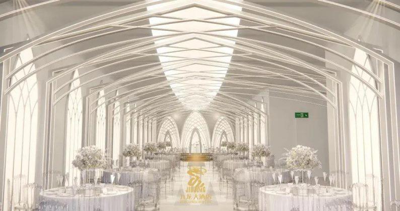 婚礼堂发布:6大主题厅!武汉大型综合性酒店设计解读  第13张