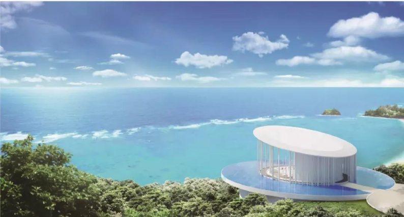 婚礼堂发布:普吉岛海岸教堂,眺望180度海景  第1张
