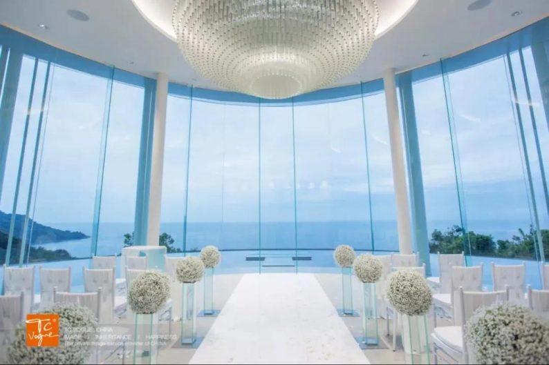 婚礼堂发布:普吉岛海岸教堂,眺望180度海景  第3张